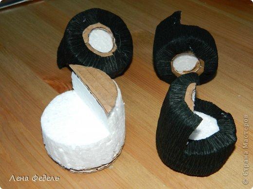Мастер-класс Свит-дизайн День рождения Моделирование конструирование Молния Маквин из конфет Бумага гофрированная фото 7