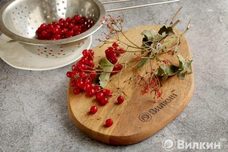 Очистка ягод