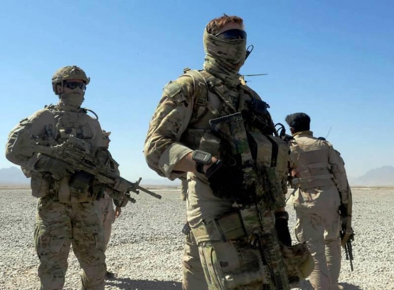 Американские спецназовцы при…