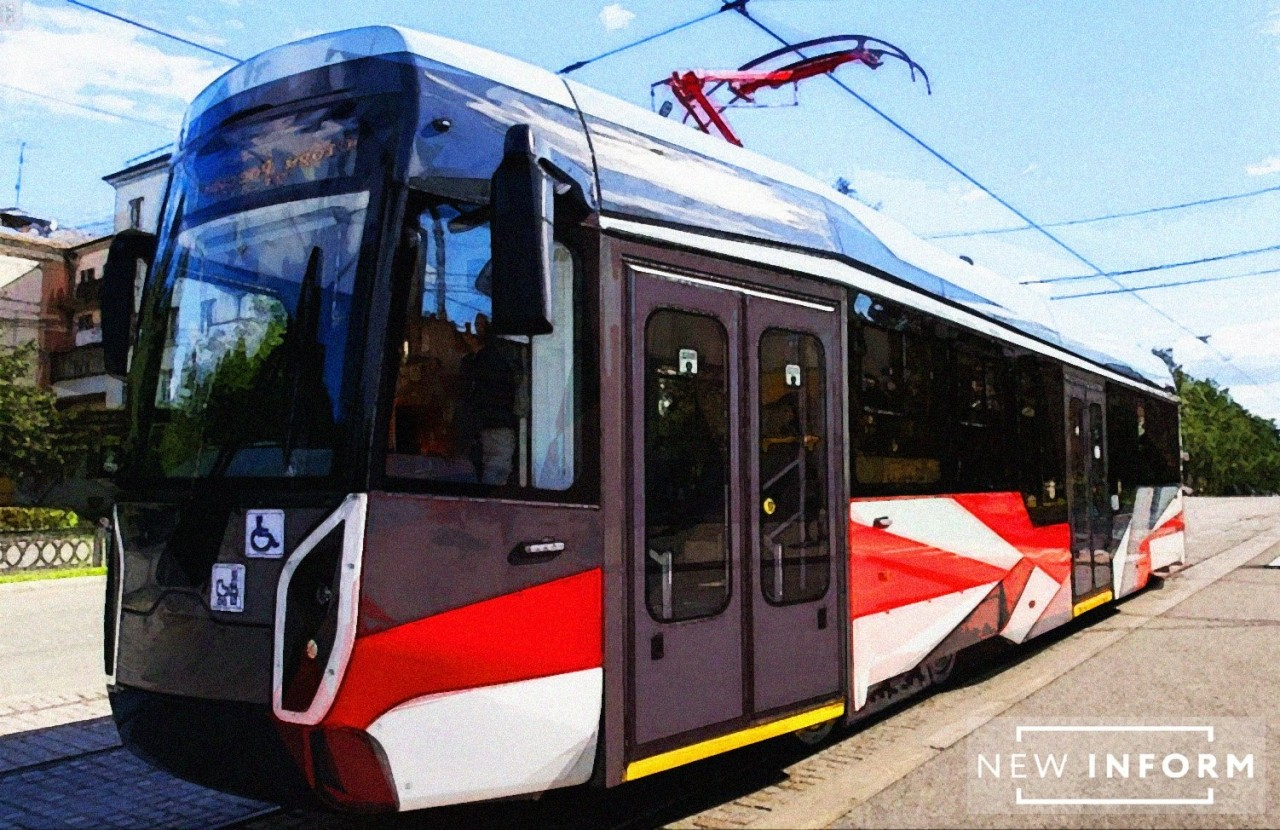 Вагоны нового поколения модели 71-412: УВЗ представил инновационный трамвай