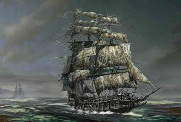 Море покинутых кораблей