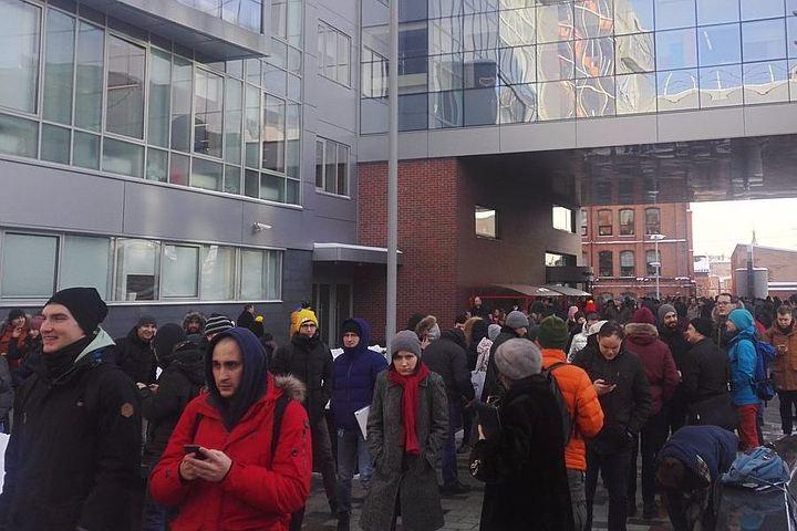 В Москве эвакуировали штаб-квартиру «Яндекса» из-за сообщения о минировании