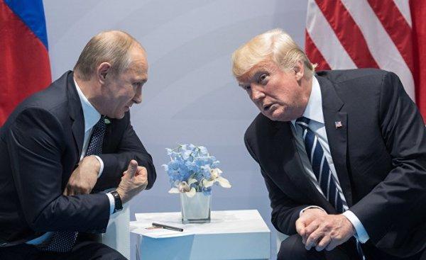 WSJ сообщил о подготовке встречи Путина и Трампа