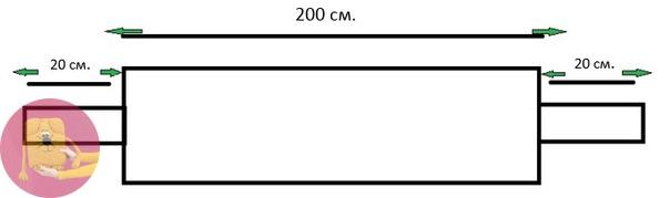 Свитер - шарф 2