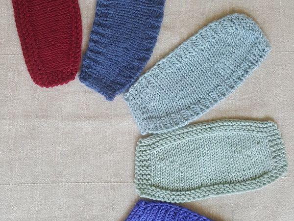 5 способов вязания укороченными рядами