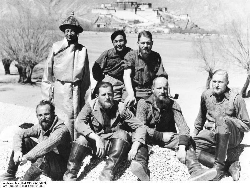 Тайны третьего рейха: Экспедиция Шеффера в Тибет
