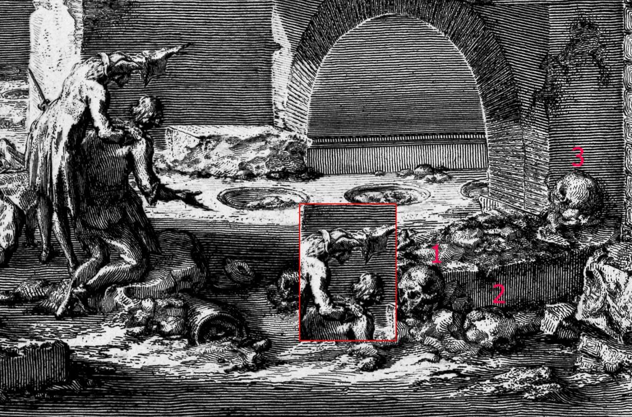 Кости гигантов на гравюрах Пиранези.