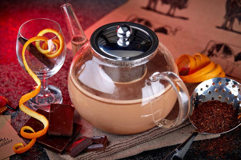 Изображение рецепта Шоколадный чай с бергамотом