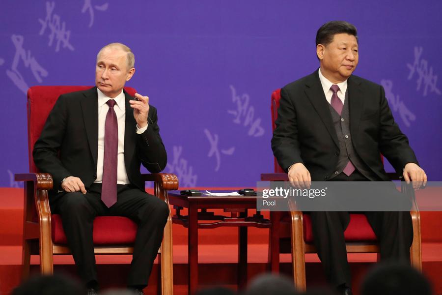 О том, как Китай окружает Россию