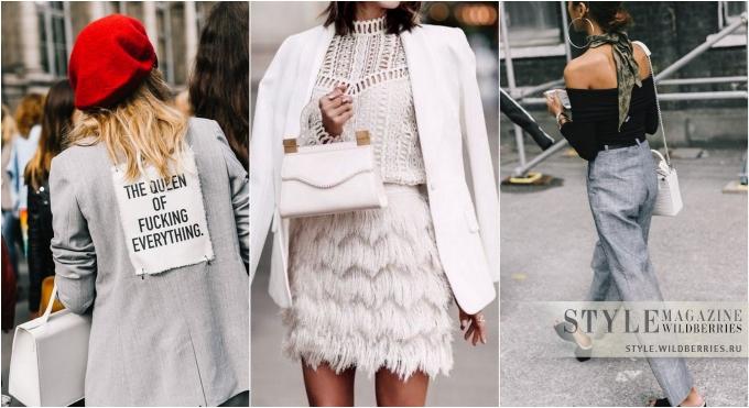 Объект желания: Белая сумка