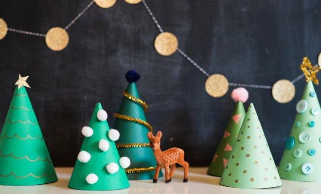 Отличные идеи, как сделать новогоднюю елку своими руками (25 фото)