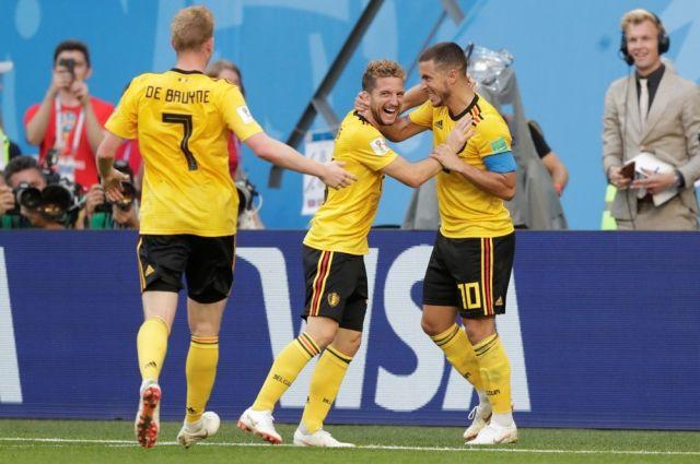 Победа Бельгии над Англией в матче за третье место ЧМ