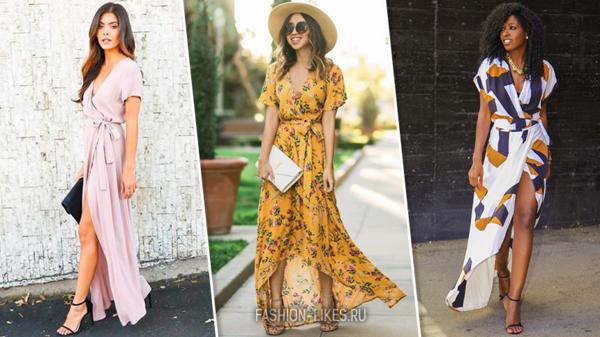 9 по-летнему красивых платьев с запахом, которые помогут скрыть недостатки фигуры
