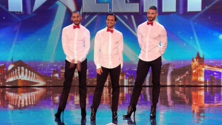 36 000 000 просмотров! Танцующие на каблуках парни покорили не только Великобританию, но и весь мир
