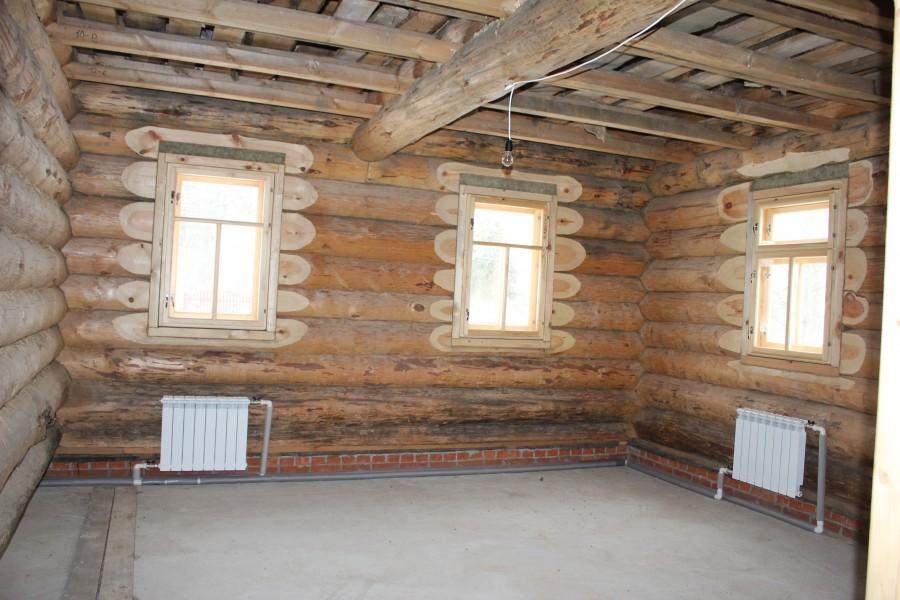 Ремонт деревенского дома своими руками 530