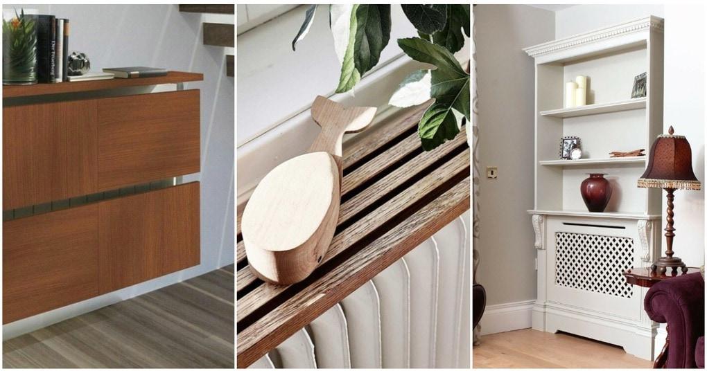 Радиатор может быть стильным: декор, дарящий тепло и уют
