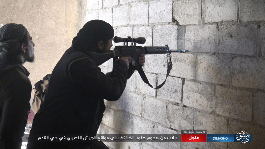 Жестокие бои под Дамаском: И…