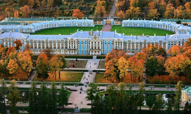 Чудеса России. История основания Царского Села