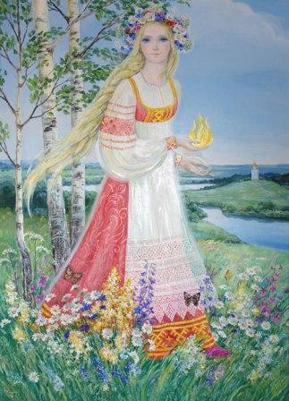 Молитвы к Богам Рода Православного о благополучном замужестве и семье