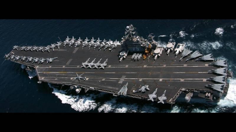 Авианосец «Гарри Трумэн» взял на прицел Северный флот России