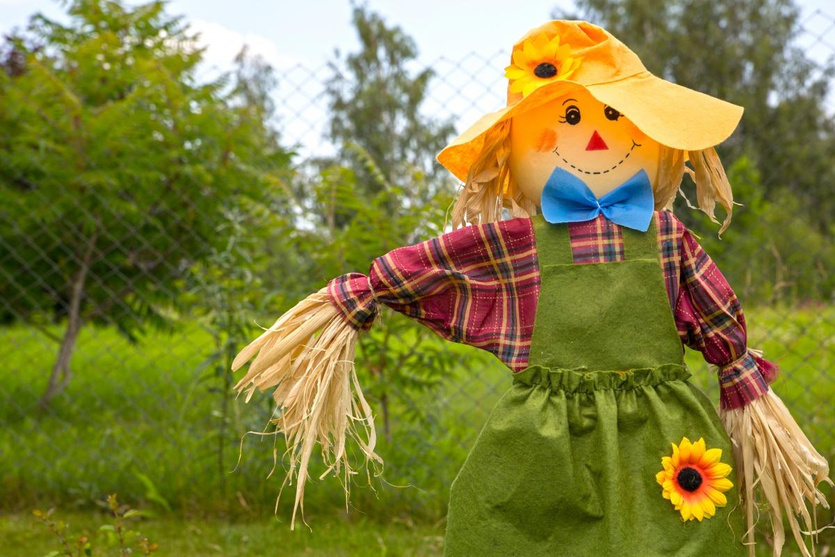 Как сделать чучело огородное своими руками мастер класс