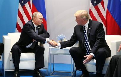 Путин рассказал о темах переговоров с Трампом