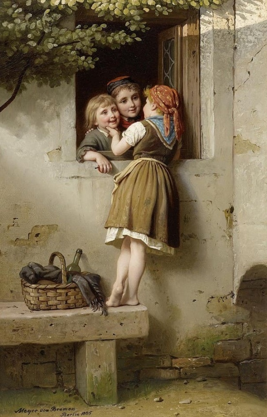 художник Иоганн Георг Майер фон Бремен (Johann Georg Meyer von Bremen) картины – 10