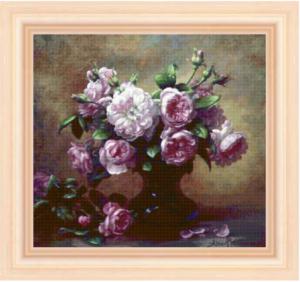 Схема вышивки «Букет цветов»