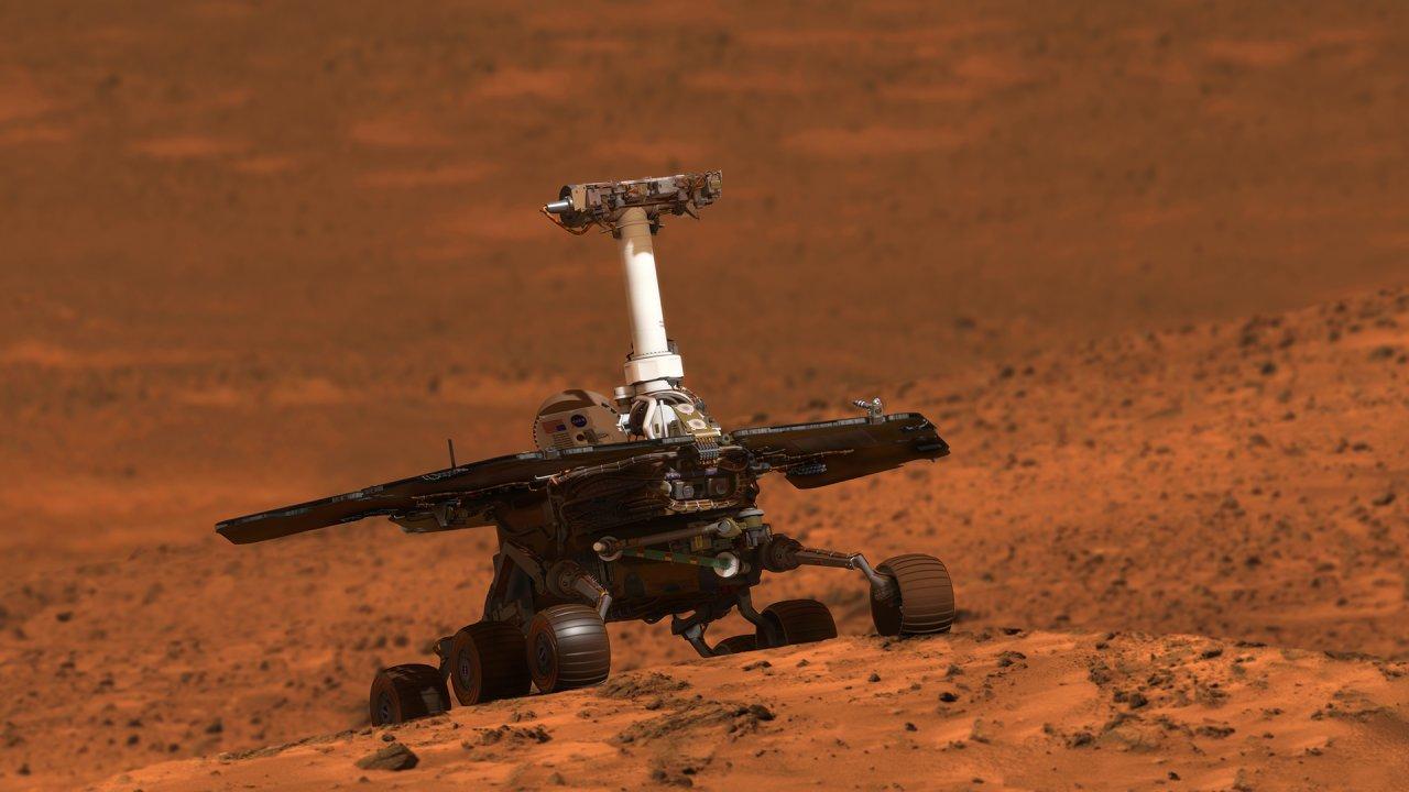 NASA не нашло марсоход Oppor…