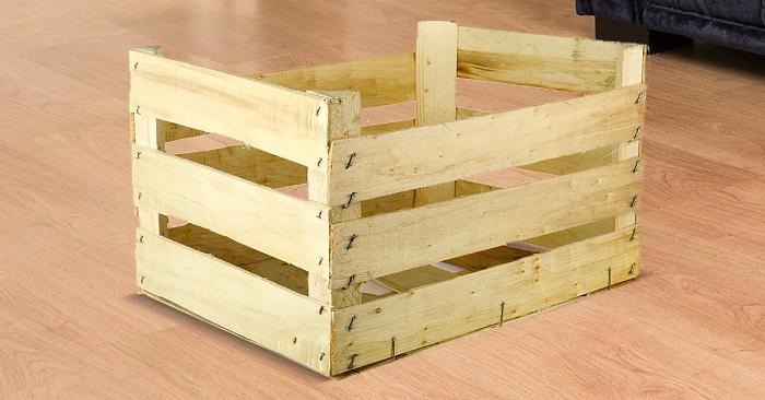 Отличные идеи мебели из старых деревянных ящиков!