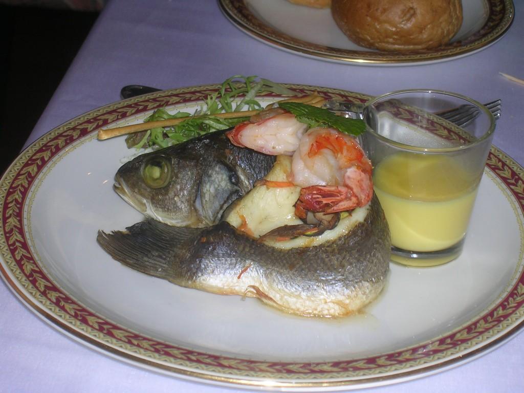 Закусь рыбная.