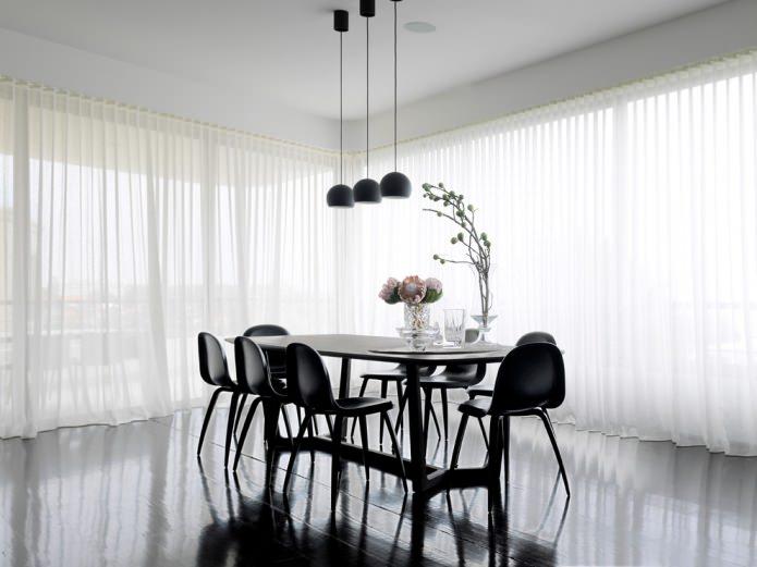 Современный стиль столовой