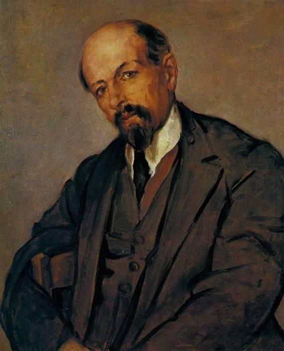 Иосиф Славкин, натурщик Ленина