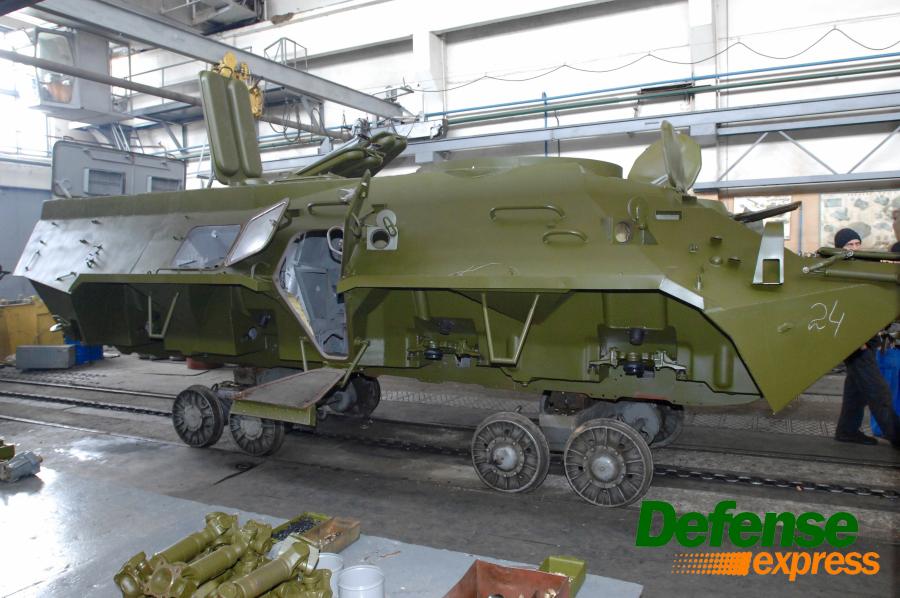 Трудности с производством бронетранспортеров БТР-3 и БТР-4 на Украине