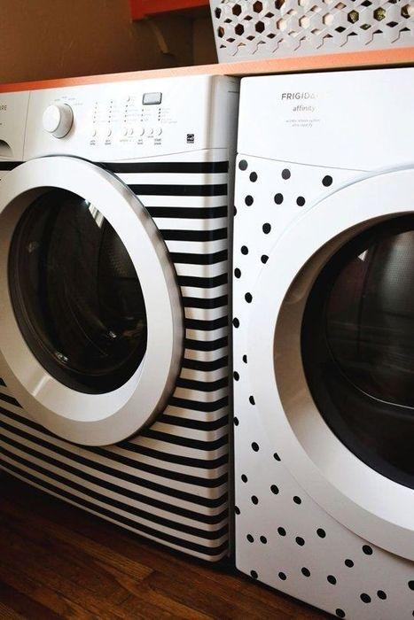 Декор стиральной машинки