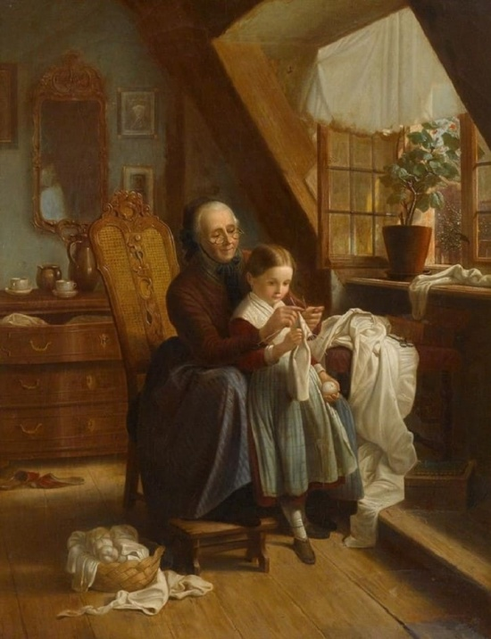 художник Иоганн Георг Майер фон Бремен (Johann Georg Meyer von Bremen) картины – 05