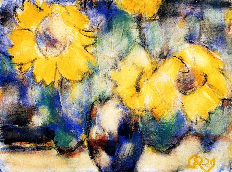 Кристиан Рольфс (1849-1938) — немецкий художник, яркий представитель немецкого экспрессионизма.