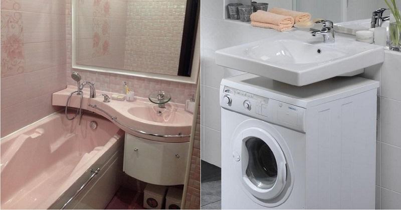 Ванная комната всего 5 кв. м…