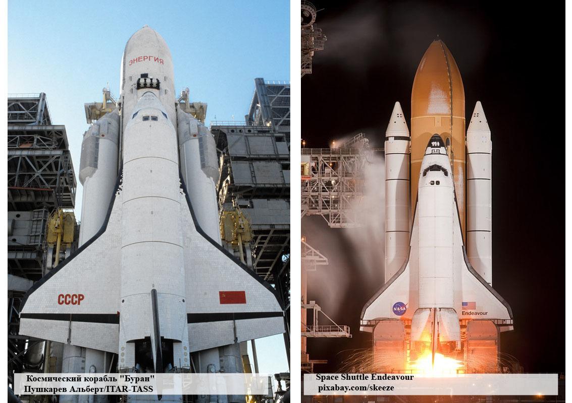 Опрос ВЦИОМа о российской космонавтике проиллюстрировали американским шаттлом