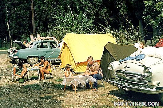 Советский автотуризм 60-х годов