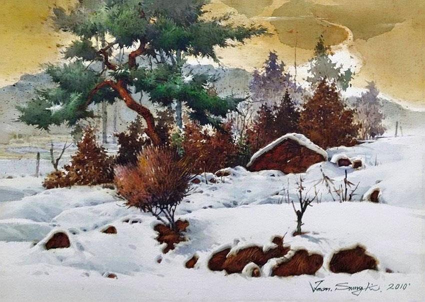 Чон Сон Ки (Jeon Sung Ki) — современный южно-корейский художник.