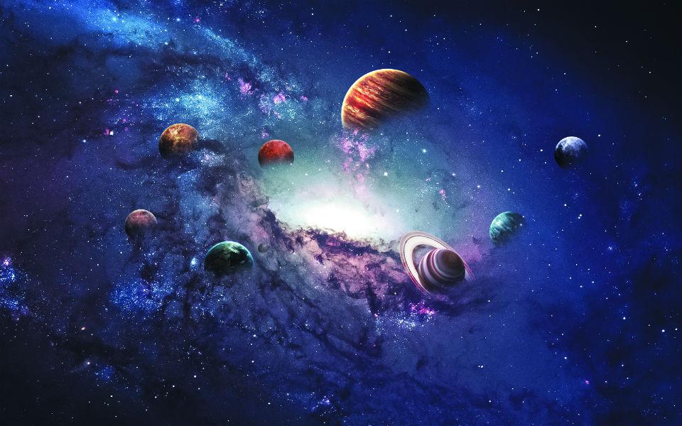 Когда Бог и Создатели создавали Солнечную Систему...
