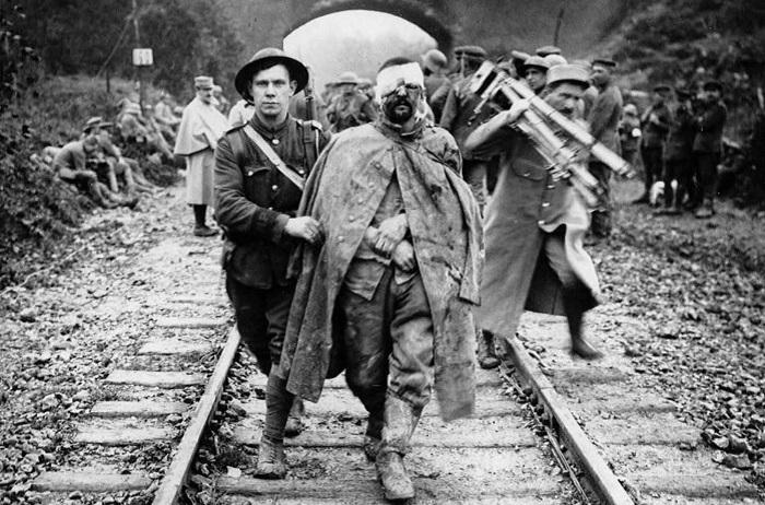 Западный фронт Первой мировой: 30 редких фотографий, на которых оживает история