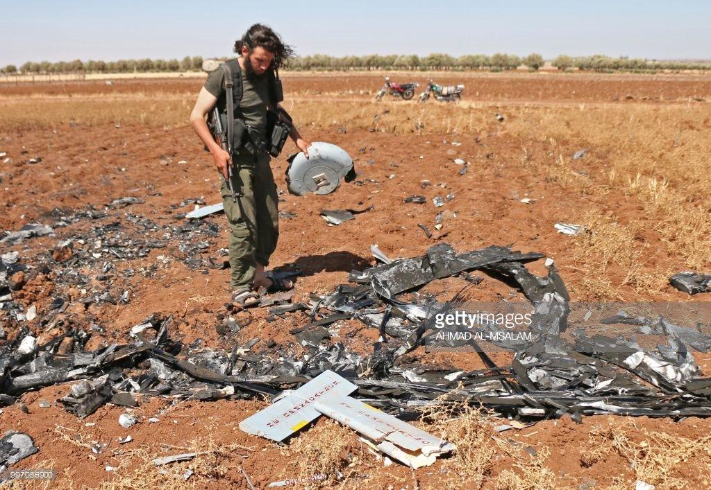 Израиль сбил российско-израильский беспилотный летательный аппарат