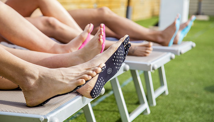 New Stick-On Soles Let You Forget Flip Flops And Go Barefoot