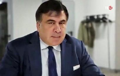 На Украине после прорыва Саакашвили через границу возбуждено дело