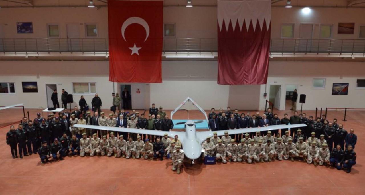 Катар получил турецкие беспилотные летательные аппараты Bayraktar TB2