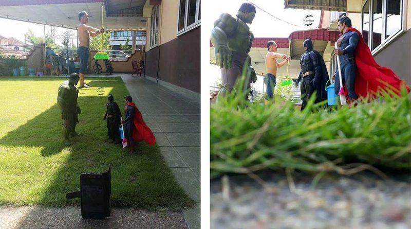 Малазиец тусит с супергероями, и это просто и гениально