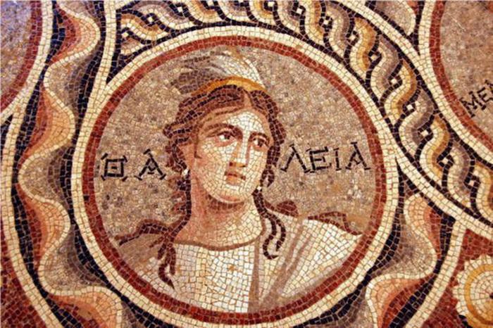 Археологическая находка: древние греческие мозаики в турецком городе Зевгма