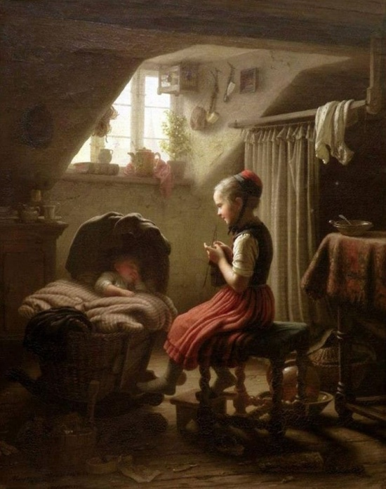 художник Иоганн Георг Майер фон Бремен (Johann Georg Meyer von Bremen) картины – 29